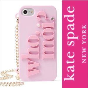 Kate Spade • Who, Moi? iPhone Case • NIB